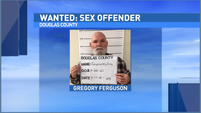 Wanted high-risk sex offender booked into Douglas County